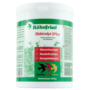 ROHNFRIED -Elektrolyt 3 Plus, 600 g