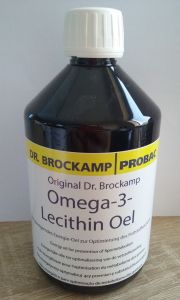 DR.BROCKAMP - Omega-3-Lecithin Oel 500 ml