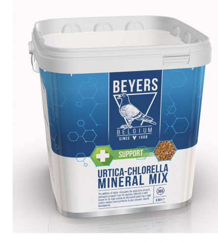 BEYERS - Urtica-Chlorella Mineral Mix - 5 KG