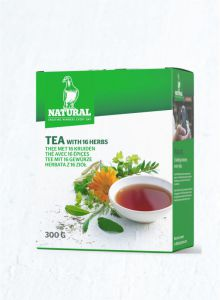 NATURAL - Tea with 16 herbs- herbata dla gołębi